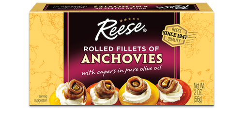 Reese® Rolled Anchovies with Capers