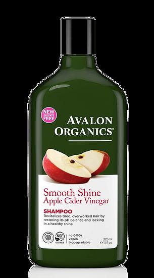 Avalon Organics® Smooth Shine Apple Cider Vinegar Shampoo