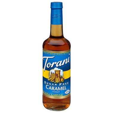 Sugar Free Torani® Caramel Drink Syrup