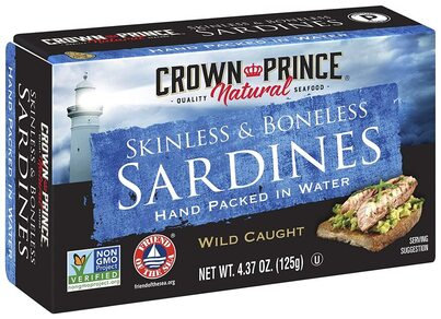 Crown Prince® Skinless & Boneless Sardines