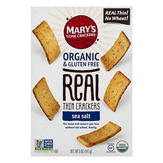 Thin Sea Salt Crackers