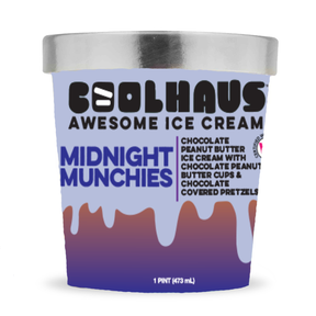 CoolHaus Midnight Munchies Ice Cream