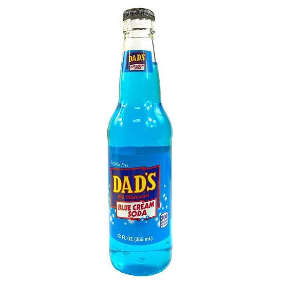 Dad's Blue Cream Soda