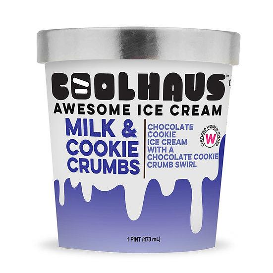 CoolHaus Milk & Cookie Crumbs Ice Cream