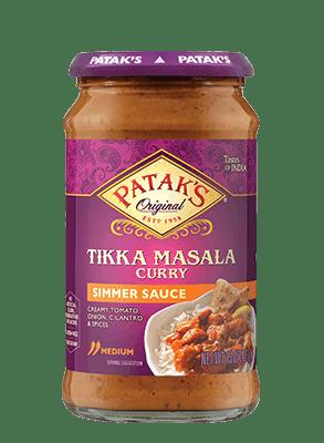 Patak's® Tikka Masala Curry Simmer Sauce