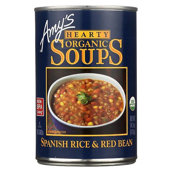 Organic Spanish Rice & Red Bean