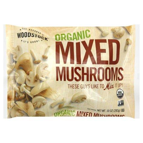 Woodstock Organic Frozen Mixed Mushrooms