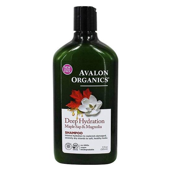Avalon Organics® Deep Hydration Maple Sap & Magnolia Shampoo
