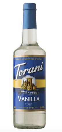 Sugar Free Torani® Vanilla Drink Syrup