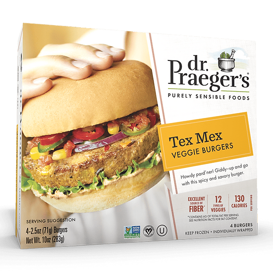 Dr Praeger's® Tex Mex Veggie Burgers