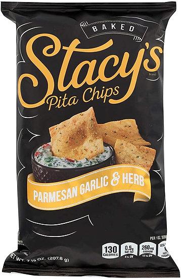 Parmesan & Garlic Pita Chips