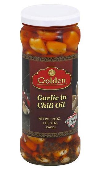Garlic in Chili Oil