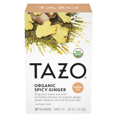 Organic Spicy Ginger