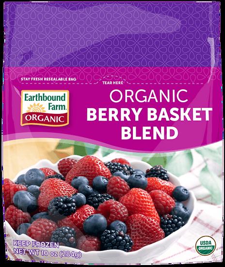 Frozen Organic Berry Basket Blend