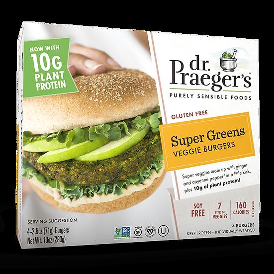 Dr Praeger's® Super Greens Soy Free Protein Veggie Burgers