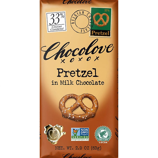 Pretzel in Milk Chocolate
