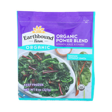 Earthbound Farm Organic Power Blend Spinach Kale & Chard