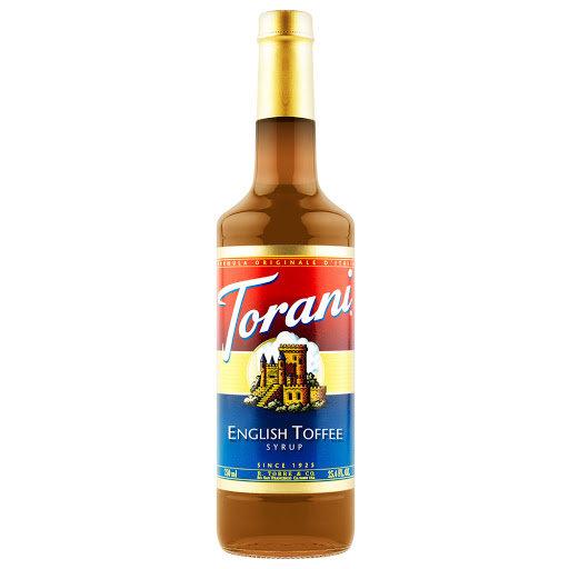 Torani® English Toffee Drink Syrup