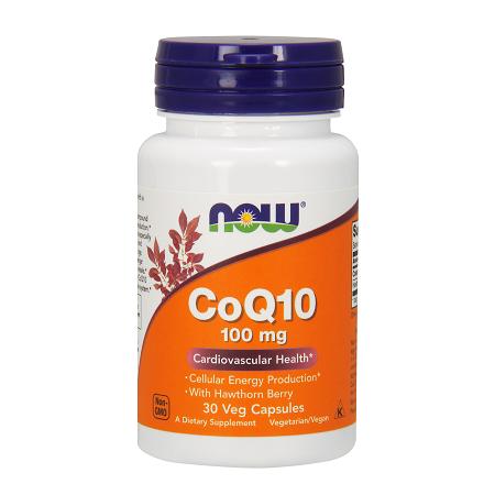 CoQ10 100mg w/Hawthorne Berry