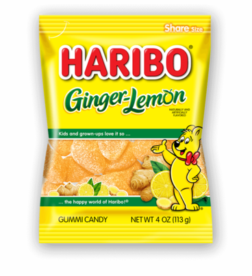 Ginger Lemon Gummi