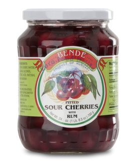 Bende® Pitted Sour Cherries with Rum