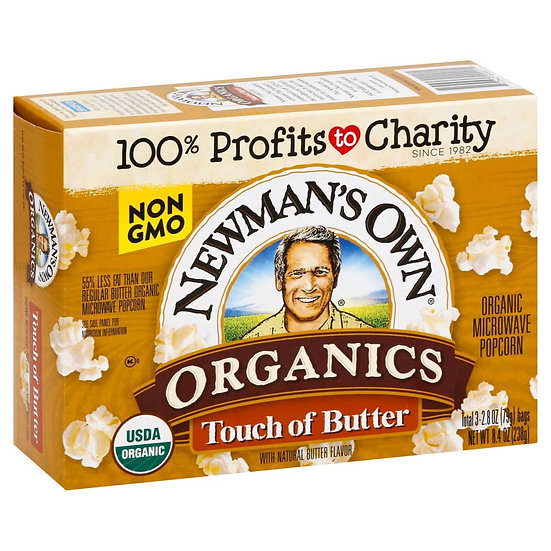 Newman's Own® Organics Touch of Butter Popcorn