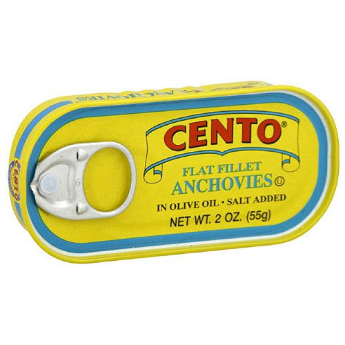 Cento® Flat Fillet Anchovies