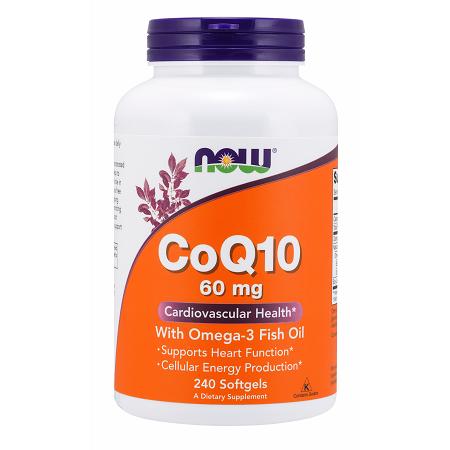 CoQ10 60mg w/Omega-3 Fish Oil