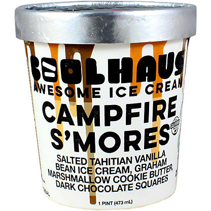 CoolHaus Campfire S'mores Ice Cream
