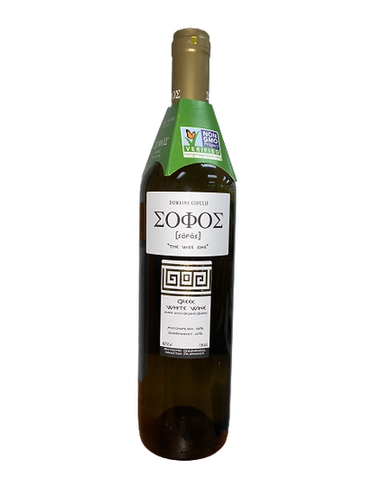 """Domaine Gioulis """"The Wise One"""" Sonos Greek White Wine"""