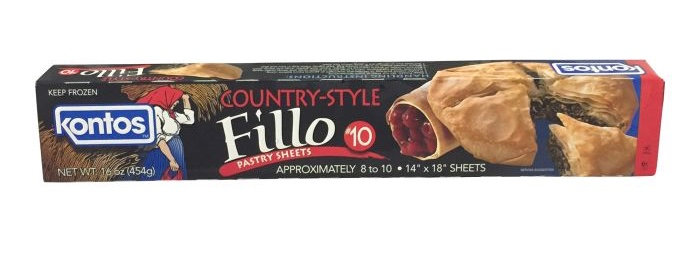 Kontos Country Style Fillo Pastry Sheets #10