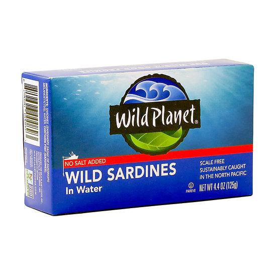 Wild Planet® Sardines in Water No Salt Added