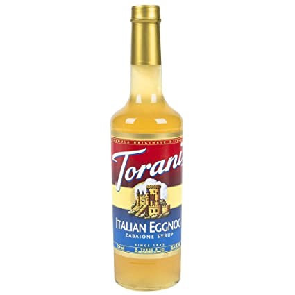 Torani® Italian Eggnog Drink Syrup