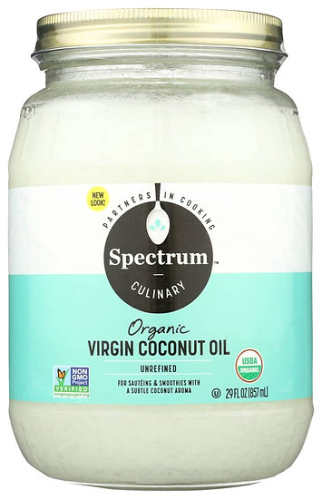 Spectrum™️ Organic Unrefined Virgin Coconut Oil