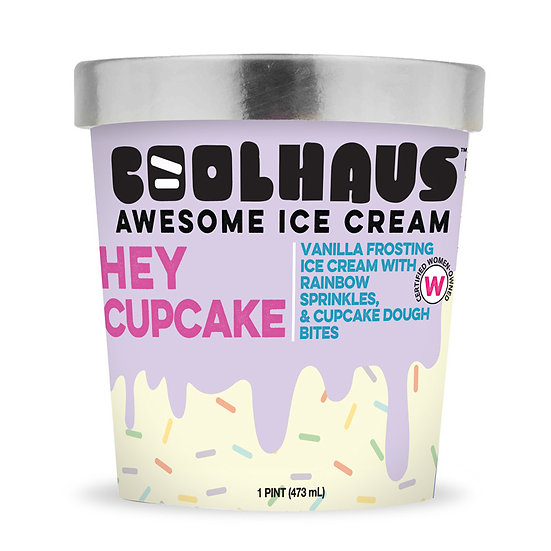 CoolHaus Hey Cupcake Ice Cream