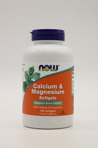 Calcium & Magnesium w/Vit. D-3 & Zinc