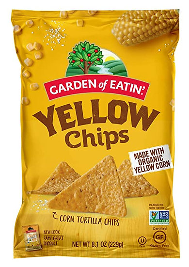 Organic Yellow Chips