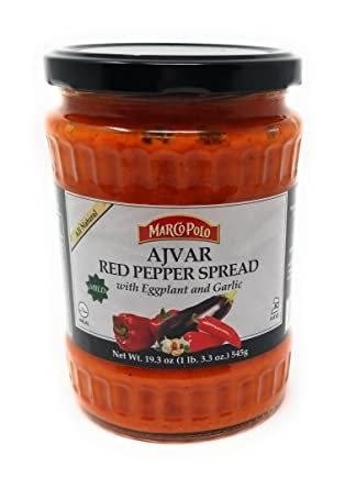 Marco Polo® Mild Ajvar Red Pepper Spread