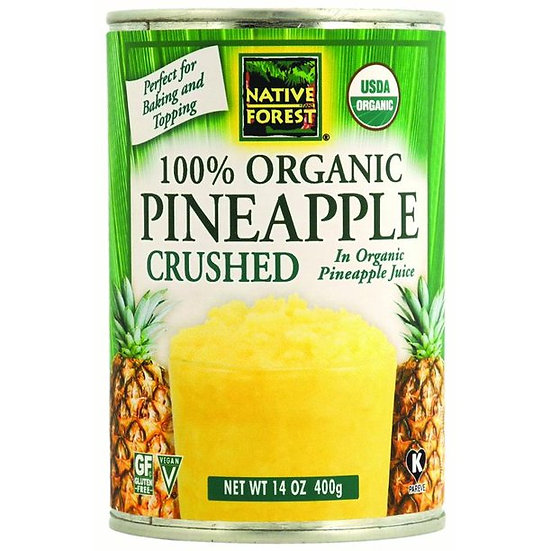 Organic Crushed Pineapple