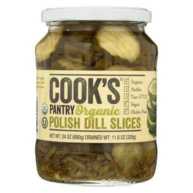 Cook's Pantry® Organic Polish Dill Slices