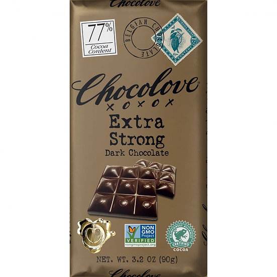 Extra Strong Dark Chocolate