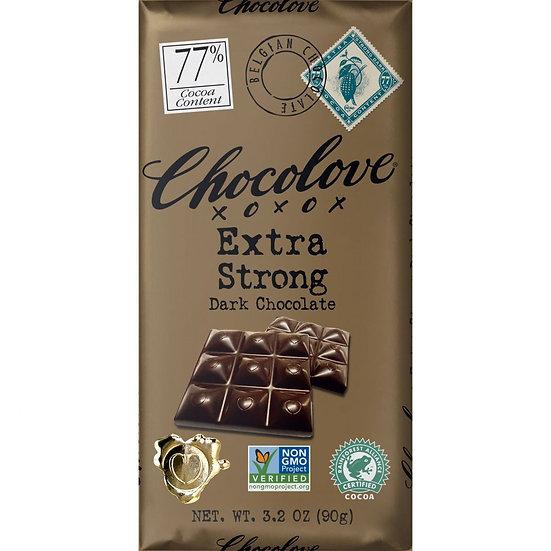 Extra Strong Dark Chocolate