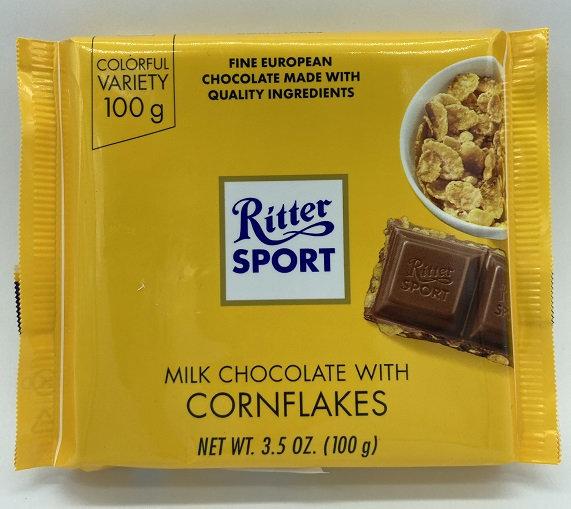 Milk Chocolate with Cornflakes