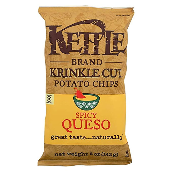Spicy Queso Krinkle Chips