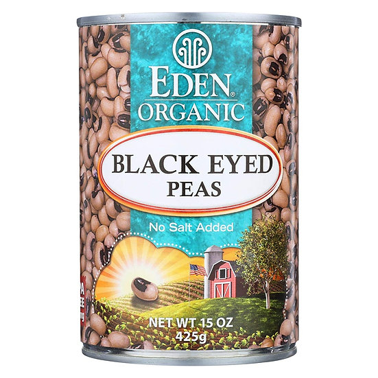 Eden® Organic Black Eyed Peas