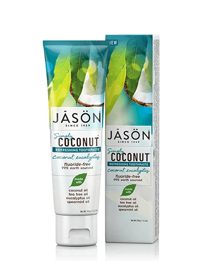 Coconut Eucalyptus Flouride-Free Toothpaste