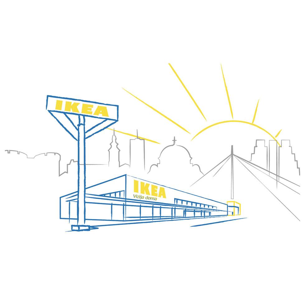 IKEA Belgrade Store Opening Logo