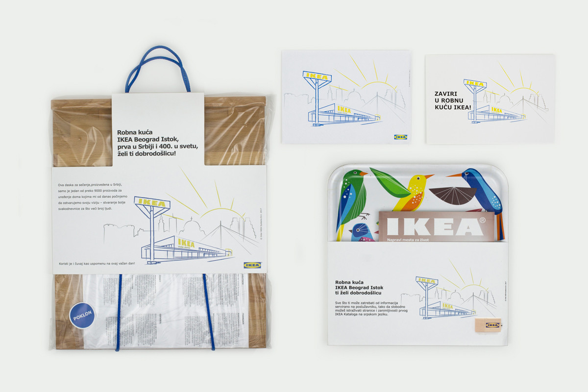 IKEA Belgrade Store Opening Material