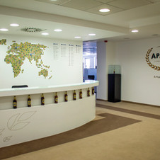 Office Branding: Apatinska HQ Belgrade