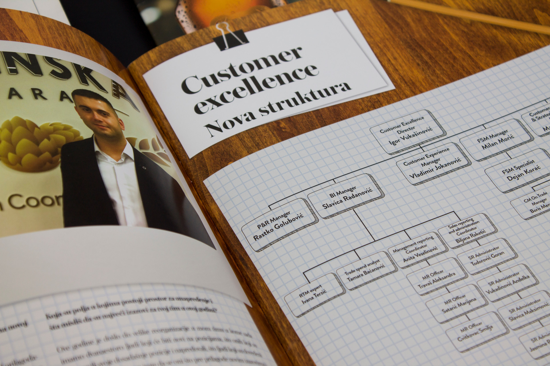 Apatinska pivara Corporate Magazine Apalist Design